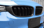 M Performance Kidney Grille [Dual Slats] (Carbon Fibre) - BMW  M3 / 4 Series / M4  - 2013-20