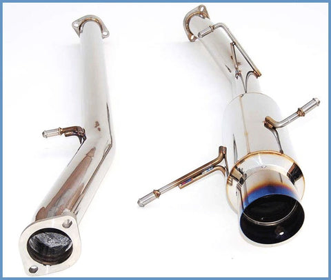 Invidia N1 Catback Exhaust Non Resonated - Subaru WRX 01-07