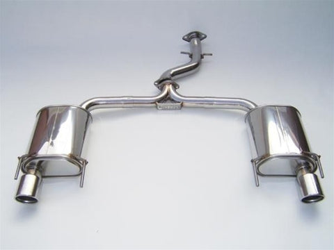 Invidia Q300 Catback Stainless Tips - Lexus IS350 06-on
