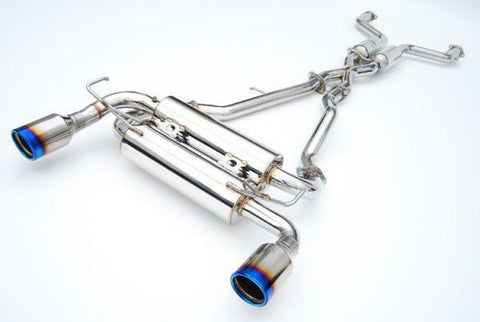 Invidia Gemini Catback Exhaust with Titanium Tips to suit Nissan 370Z 09-up
