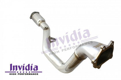 "Invidia Down Pipe ""Australian SPEC"" Catted - Subaru Manual WRX 08-14/STI 08-17/Liberty 07-09/Forester 08-13 (incl 4 Speed Auto)"