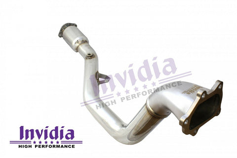 "Invidia Down Pipe ""Australian SPEC"" with Hi Flow Cat Subaru Manual WRX 08-14/STI 08-17/Liberty 07-09/Forester 08-13 (incl 4 Speed Auto)"