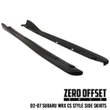 02-07 Subaru WRX CS Style Side Skirts