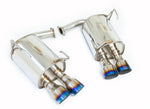 Invidia Q300 Cat back Exhaust Straight Cut Titanium Tip - Subaru WRX/STI 11-19