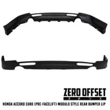 03-05 Honda Accord Euro CL9 Modulo Style Rear Lip (Pre-facelift)