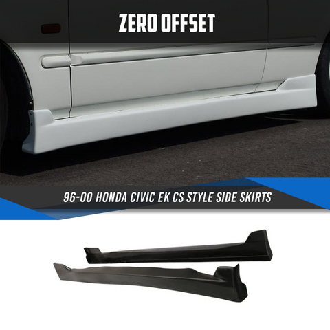 96-00 Honda Civic EK CS Style Side Skirts