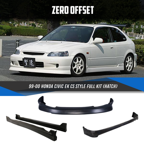 99-00 Honda Civic EK CS Style Full Kit (Hatch)