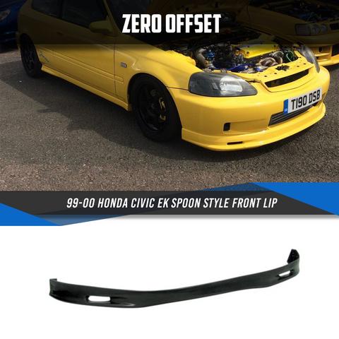 99-00 Honda Civic EK Spoon Style Front Lip