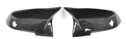 M Performance Style Mirror Caps (Carbon Fibre) - BMW 1 / 2 / 3 / 4 Series (Fx) - 2015- 19