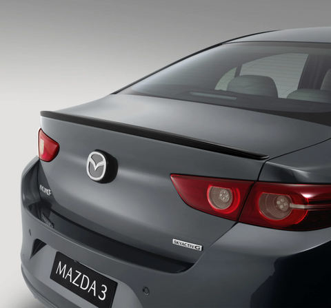 19+ Mazda 3 BP Kuroi Style Trunk Spoiler (Sedan)