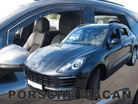Team Heko Weather Shields - Porsche Macan 5 Door 13+