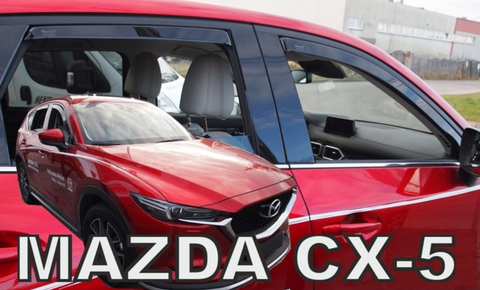 Team Heko Weather Shields - Mazda CX5 5 Door 17+