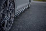 White Volkswagen MK7.5 Golf R Side Skirt Splitters