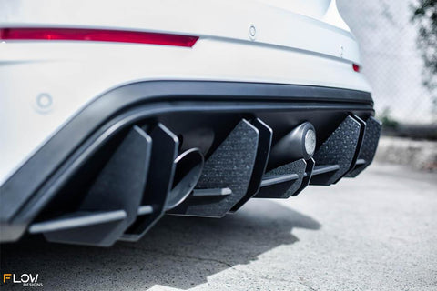 Ford MK3 Focus RS Splitter Set