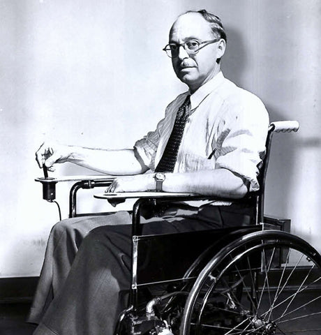 First Electric Wheelchair