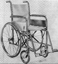 First Foldable Wheelchair