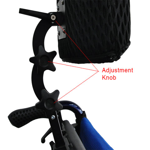 wheelchair accessories headrest adjustable