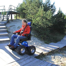 Load image into Gallery viewer, Stair Climbing Power Chair PW-4x4Q