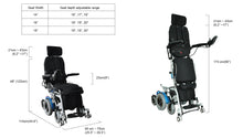 Load image into Gallery viewer, Draco Standing Powered Wheelchair