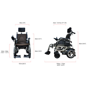 Reclinable Power Wheelchair PW-777PL