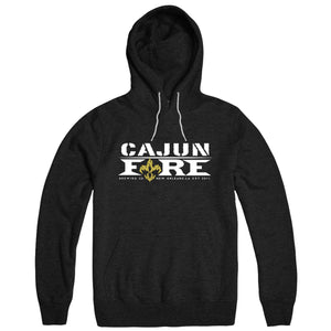 Cajun Fire Big Chief Hoodie - Black