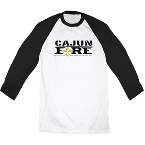 Cajun Fire Big Chief 3/4 Raglan