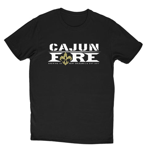 Cajun Fire Big Chief Tee - Black