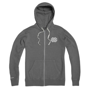 Circa '15 Zip Hoodie - Heather Grey
