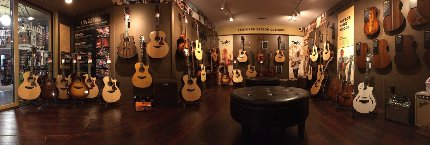 Taylor Guitar Showroom