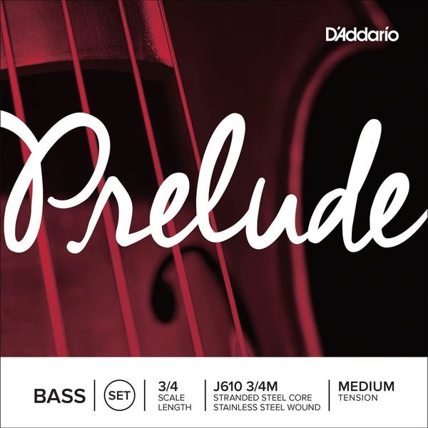 Prelude Bass 3/4 String Set