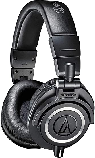 Audio Technica ATH-M50X Headphones from Haggertys Music