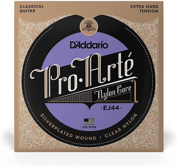 D'Addario-EJ44-Nylon-Pro-Arte-Extra-Hard-Tension-Classical-Guitar-Strings-Haggertys-Music