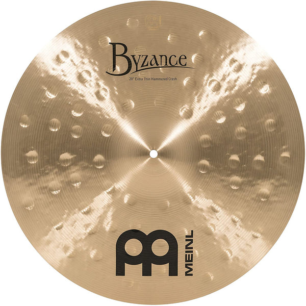 "Meinl 20"" Byzance Extra Thin Hammered Crash Cymbal"