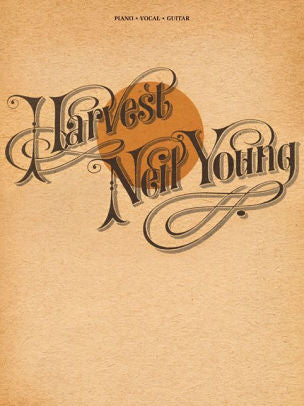 Neil Young - Harvest paperback book