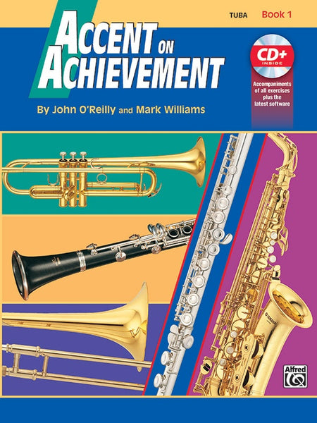 Accent on Achievement, Book 1 [Tuba] from Haggertys Music