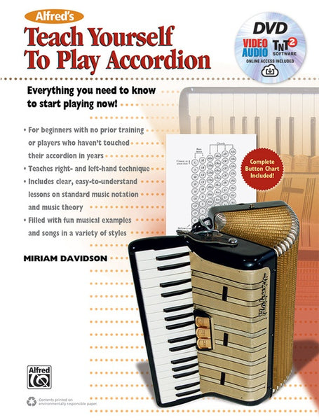 Alfred Teach Yourself To Play Accordion