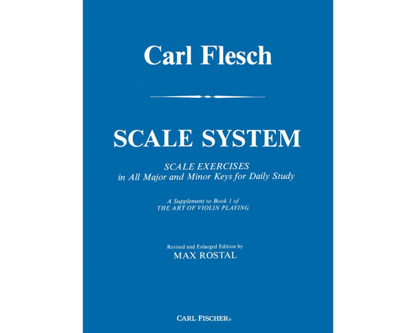 Carl Flesch Scale System from Haggertys Music