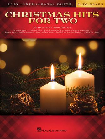 Hal Leonard Christmas Hits For Two Easy Duets Alto Saxophones