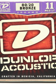 Dunlop DAB1152 Acoustic String Set, .011-.052