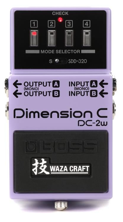 Boss DC-2w Dimension Pedal from Haggertys Music