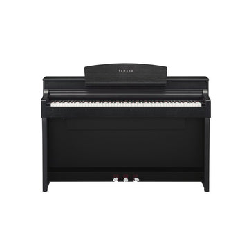 Yamaha CSP-170 Matte Black Clavinova tablet controlled smart piano w/bench