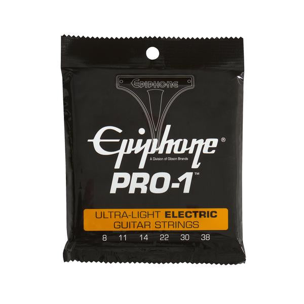 Epiphone PRO-1 Electric Guitar Strings 8-38