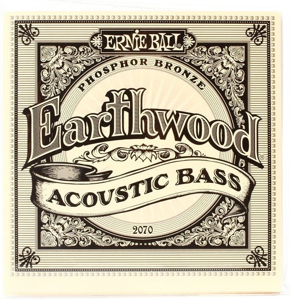 Ernie Ball P02070 Earthwood 45-95 Acoustic Bass String Set