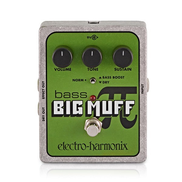 Electro Harmonix Bass Big Muff Pi Bass Distortion/Sustainer Pedal