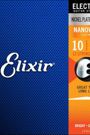 Elixir 12450 Electric 12-String Set, .010-.046