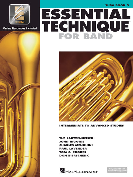 Essential Technique For Band Tuba Bk. 3