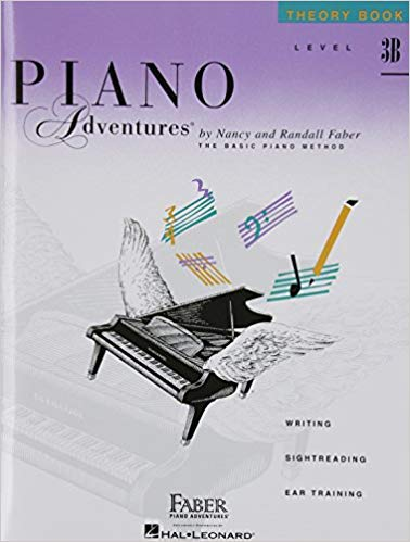 Level 3B - Theory Book: Piano Adventures Paperback