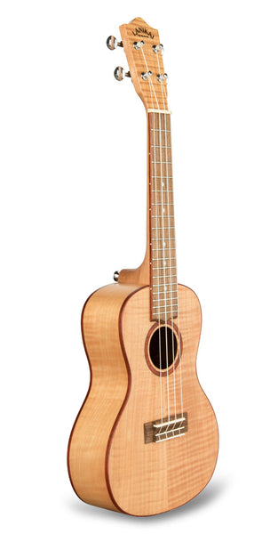 Lanikai FM-C Flame Maple Concert Ukulele w/Gig Bag