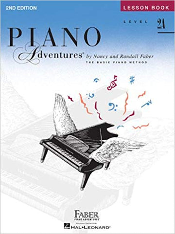 Level 2A - Lesson Book: Piano Adventures Paperback