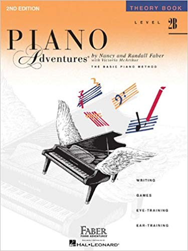 Level 2B - Theory Book: Piano Adventures Paperback